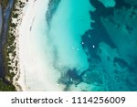 aerial view of the sardinian...   Shutterstock . vector #1114256009