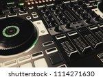 professional concert dj... | Shutterstock . vector #1114271630
