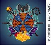 video role game cartoon emblem...   Shutterstock .eps vector #1114278260