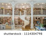 bucharest  romania   june 12 ...   Shutterstock . vector #1114304798