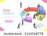 flat isometric vector concept...   Shutterstock .eps vector #1114318778