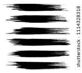 vector set of grunge brush...   Shutterstock .eps vector #1114328318