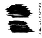 vector set of grunge brush...   Shutterstock .eps vector #1114328330