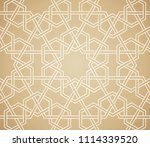 background with seamless... | Shutterstock .eps vector #1114339520
