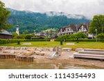 st. gilgen  austria   june 2 ...   Shutterstock . vector #1114354493