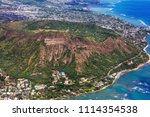 beautiful landscapes in oahu... | Shutterstock . vector #1114354538