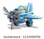 aircraft. vector airplane...   Shutterstock .eps vector #1114356956