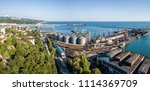 panoramic aerial view of...   Shutterstock . vector #1114369709