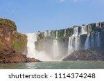 landscape from iguazu falls... | Shutterstock . vector #1114374248