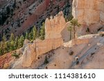 bryce canyon national park ... | Shutterstock . vector #1114381610