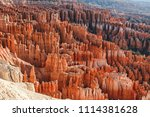 bryce canyon national park ... | Shutterstock . vector #1114381628