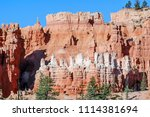 bryce canyon national park ... | Shutterstock . vector #1114381694