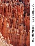 bryce canyon national park ... | Shutterstock . vector #1114381730