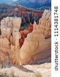 bryce canyon national park ... | Shutterstock . vector #1114381748