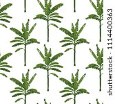 seamless summer pattern for... | Shutterstock . vector #1114400363