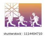 anzac day design | Shutterstock .eps vector #1114404710