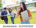 students asian portrait...   Shutterstock . vector #1114423220