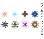 geometric patterns etudes... | Shutterstock .eps vector #1114427774
