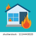 protection and insurance | Shutterstock .eps vector #1114443020