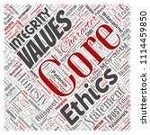 vector conceptual core values...   Shutterstock .eps vector #1114459850