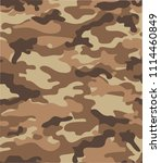 seamless camouflage background... | Shutterstock .eps vector #1114460849