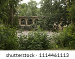 the building with arches in the ...   Shutterstock . vector #1114461113