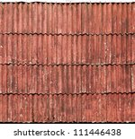 Old Red Slate Tiles Roof...