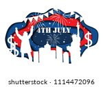 paper cut banner for... | Shutterstock .eps vector #1114472096