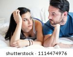 couple having problem and... | Shutterstock . vector #1114474976