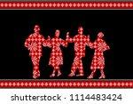 traditional festival poster...   Shutterstock . vector #1114483424