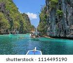 philippines   el nido   miniloc ... | Shutterstock . vector #1114495190