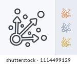 specific targets   pastel... | Shutterstock .eps vector #1114499129