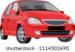 car transportation vector... | Shutterstock .eps vector #1114502690