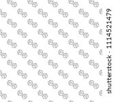 simple dice seamless pattern... | Shutterstock .eps vector #1114521479