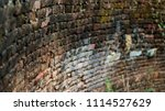 old brick wall as the texture... | Shutterstock . vector #1114527629