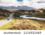 the a837 road  part of the... | Shutterstock . vector #1114531469