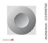 modern minimalistic geometric... | Shutterstock .eps vector #1114540760