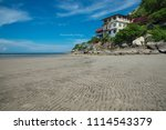 mountain and sea at khao ta... | Shutterstock . vector #1114543379