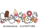 bakery and confectionery shop... | Shutterstock .eps vector #1114547186