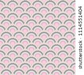 abstract pink grey snake skin... | Shutterstock .eps vector #1114551404