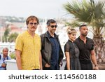 Small photo of CANNES, FRANCE - MAY 12, 2018: Michael Shannon, Ramin Brahani, Sofia Boutella and Michael B. Jordan attend the photocall for the 'Farenheit 451' during the 71st annual Cannes Film Festival