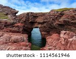 sea arch tourism attraction at... | Shutterstock . vector #1114561946