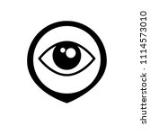eye and map pointer | Shutterstock .eps vector #1114573010
