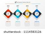 infographic design template.... | Shutterstock .eps vector #1114583126