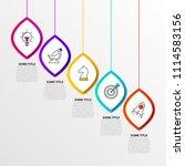 infographic design template.... | Shutterstock .eps vector #1114583156