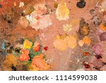 close up of different colors... | Shutterstock . vector #1114599038