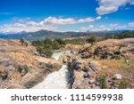 baker river at  carretera... | Shutterstock . vector #1114599938