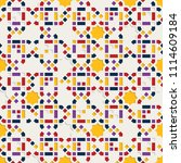 color islamic ornament pattern. ... | Shutterstock .eps vector #1114609184