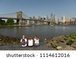 new york  usa   may 25  2018 ... | Shutterstock . vector #1114612016