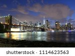 new york city  financial... | Shutterstock . vector #1114623563